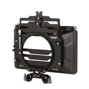 "TILTA Three Stage 4 x 5.65"" Carbon Fiber Clamp On Matte Box con 15mm Rod Adapter"